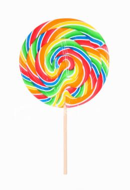 Rainbow Lollipop Cartoon