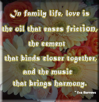 quotes about family. of family and things