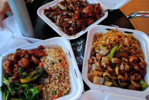 I want Chinese