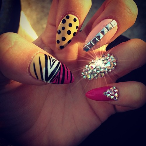 Cute Tumblr Nail Designs Stilettos
